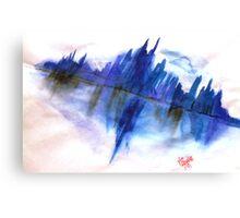 City Blue Canvas Print