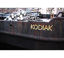 """Kodiak"" Photographic Print"