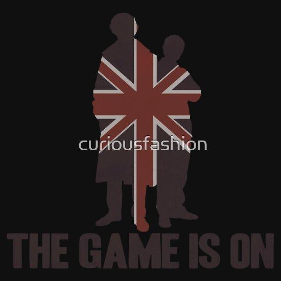 TShirtGifter presents: Sherlock - The Game Is On!