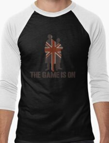 Sherlock - The Game Is On! Men's Baseball ¾ T-Shirt