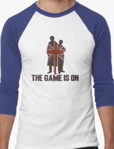 Sherlock - The Game Is On! Men's Baseball ¾ T-Shirt