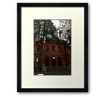Some of that Old Town Framed Print