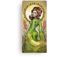 Peridots & Gladiola Canvas Print