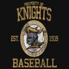 Gotham City Knights Baseball by johnbjwilson
