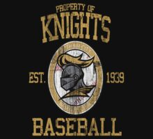 Gotham City Knights Baseball One Piece - Short Sleeve