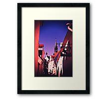 Old Town, Toompea. Framed Print
