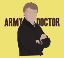 Sherlock - Army Doctor Kids Tee