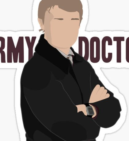 Sherlock - Army Doctor Sticker