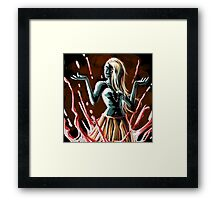 blood magic queen Framed Print