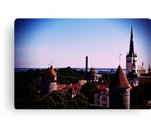 View From Toompea Canvas Print