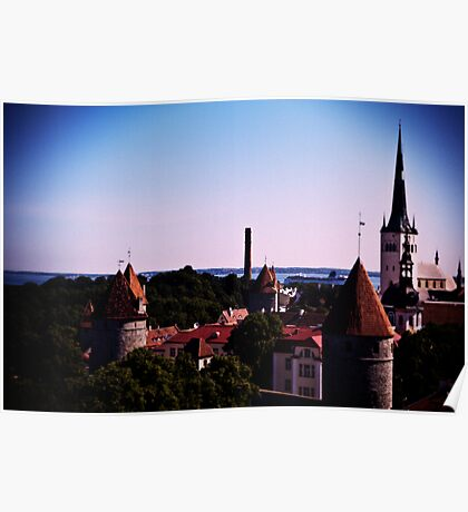 View From Toompea Poster