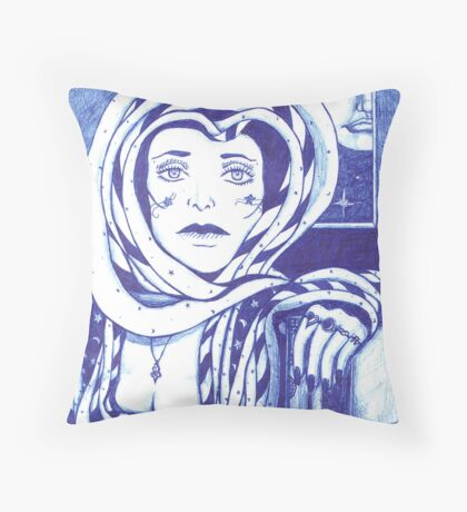 Unrequited love and longing Throw Pillow