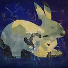 Printmaking: Rabbit by Marion Chapman