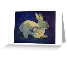 Printmaking: Rabbit Greeting Card