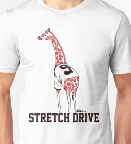 Stretch Drive Belt Giraffe Unisex T-Shirt