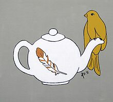 Teapot Perch by MDcreated