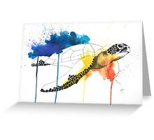 Turtle #1 Greeting Card