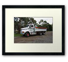 Western Star 208 - Barry Feil Hobart Framed Print
