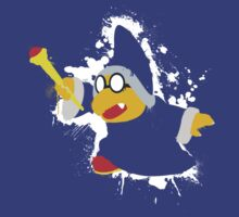 Kamek Splattery Shirt by thedailyrobot