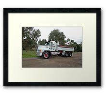 Mack Model 97 - BARRY FEIL - Hobart Framed Print