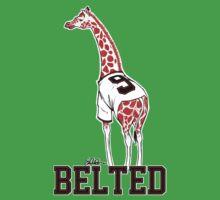 Belted Belt Giraffe Kids Clothes