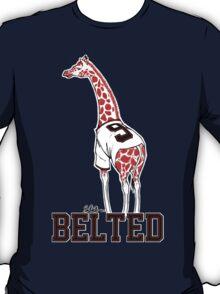 Belted Belt Giraffe T-Shirt