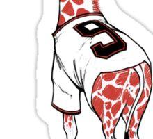 Belted Belt Giraffe Sticker
