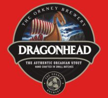 Dragon Head Beer Label Kids Clothes