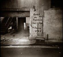 { no parking } by Lucia Fischer