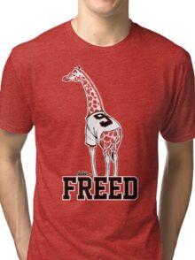 Freed Belt Giraffe Tri-blend T-Shirt