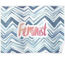 Feminist Typography 2 Poster
