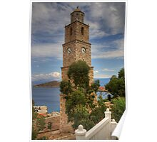 Nimborio Clock Tower Poster