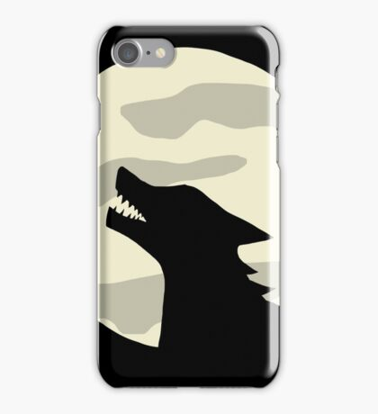 Werewolf Full Moon iPhone Case/Skin