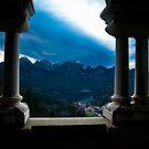 View from Neuschwanstein  by David Preston