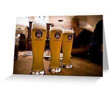 Beer Greeting Card