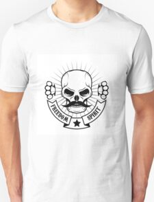 skull with a mustache T-Shirt