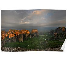Morning Light, Meteora Poster