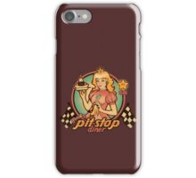 Peach's Pit Stop Diner iPhone Case/Skin