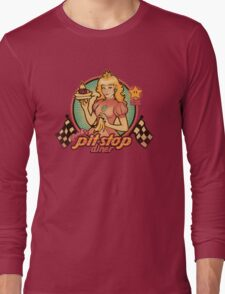 Peach's Pit Stop Diner Long Sleeve T-Shirt