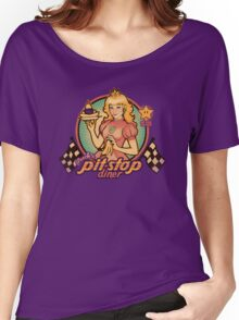 Peach's Pit Stop Diner Women's Relaxed Fit T-Shirt