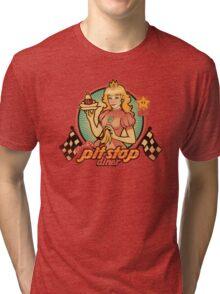 Peach's Pit Stop Diner Tri-blend T-Shirt