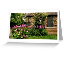 Garden Along the Fence ^ Greeting Card