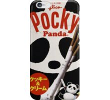 Panda Pocky iPhone Case/Skin