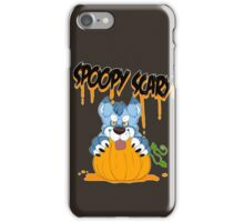 Spoopy Scary Furry iPhone Case/Skin