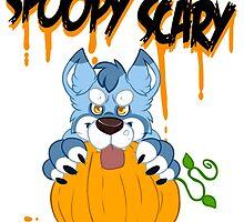 Spoopy Scary Furry by PonySplash