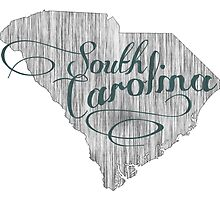 South Carolina State Typography by surgedesigns