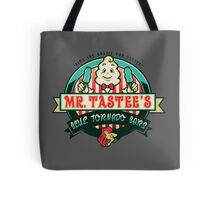 Mr. Tastee's Blue Tornado Bars Tote Bag