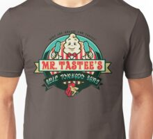 Mr. Tastee's Blue Tornado Bars Unisex T-Shirt