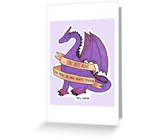 Dragons and Stuff Greeting Card