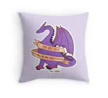 Dragons and Stuff Throw Pillow